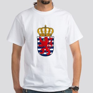 Luxemburg Coat of Arms White T-Shirt