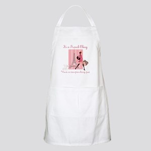 It's a French Thing Apron