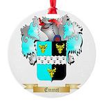 Emmet Round Ornament