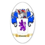 Emmens Sticker (Oval 50 pk)