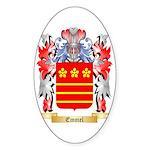 Emmel Sticker (Oval 50 pk)
