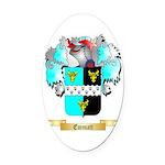 Emmatt Oval Car Magnet