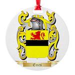 Emes Round Ornament