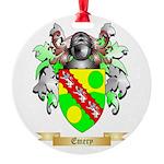 Emery Round Ornament