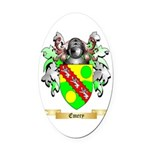 Emery Oval Car Magnet