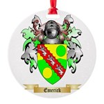 Emerick Round Ornament