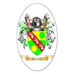 Emerick Sticker (Oval)