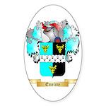 Emeline Sticker (Oval 10 pk)