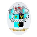 Emeline Ornament (Oval)
