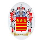 Embury Ornament (Oval)
