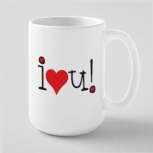 i love you! Mugs