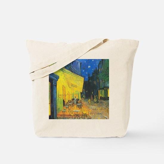 Van Gogh Cafe Terrace at Night Tote Bag