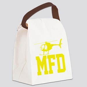 MFD Hughes 500D Helicopter Canvas Lunch Bag