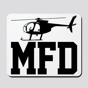 MFD Hughes 500D Helicopter Mousepad