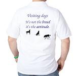 Visiting Dogs Golf Shirt