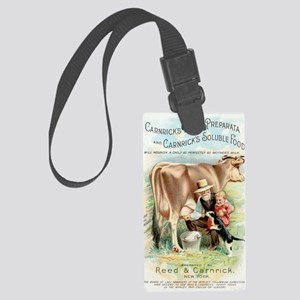 Vintage Kitchen Large Luggage Tag