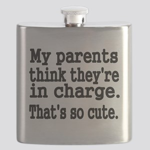 My Parents think theyre in charge Flask