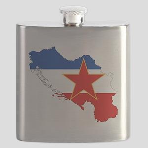 Yugoslavia Flask