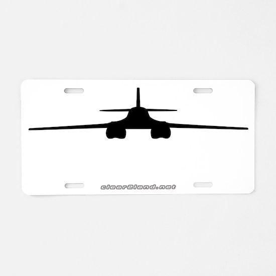 B-1 Aluminum License Plate