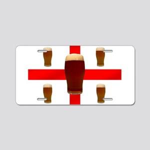 English Beer Aluminum License Plate