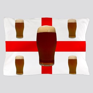 English Beer Pillow Case