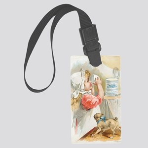 Child Baker Large Luggage Tag