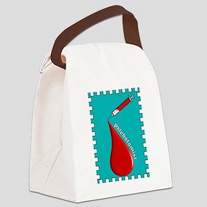 Phlebotomist BLANKET Canvas Lunch Bag