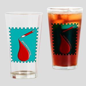 Phlebotomist BLANKET Drinking Glass