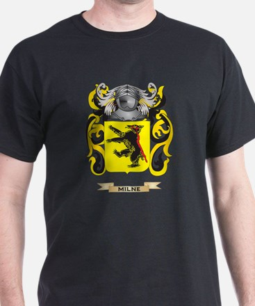 Milne Coat of Arms - Family Crest T-Shirt