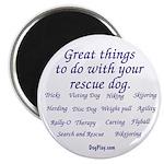 Great Dog Activities Magnet