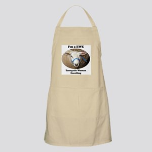 I'm a EWE: Energetic Woman Excelling Apron