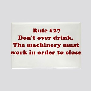 Rule #27 Rectangle Magnet