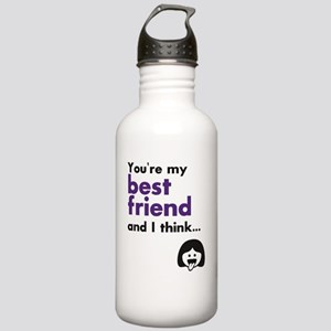 Best Friends 4Eva Stainless Water Bottle 1.0L