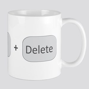Ctrl + Alt + Delete Mugs