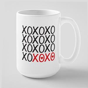 xoxo, kiss hug kiss hug, i love you Mugs