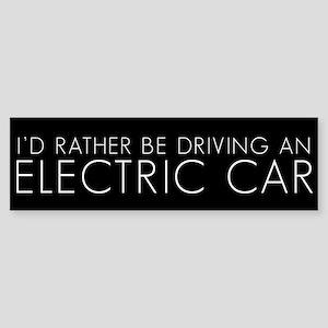 ELECTRIC CAR Bumper Sticker