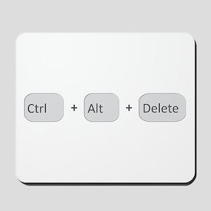 Ctrl + Alt + Delete Mousepad
