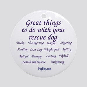 Great Things Ornament (Round)