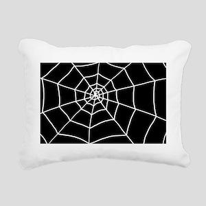 web Rectangular Canvas Pillow