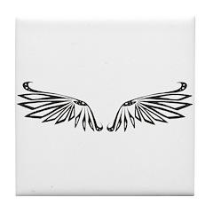 Blunt Wings Tile Coaster