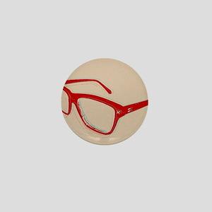 Glasses Mini Button