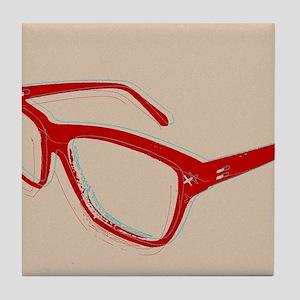 Glasses Tile Coaster