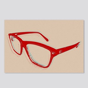 Glasses Postcards (Package of 8)