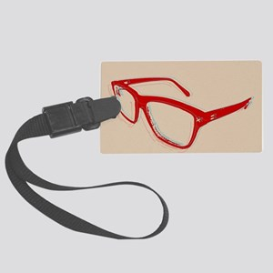 Glasses Large Luggage Tag