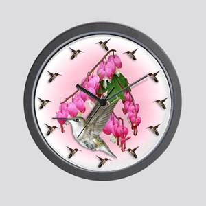 Flying Jewels Wall Clock