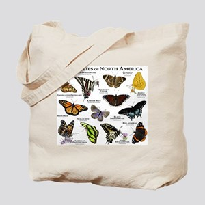 Butterflies of North America Tote Bag