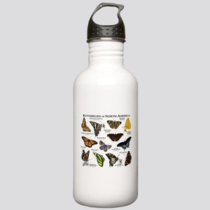 Butterflies of North America Stainless Water Bottl