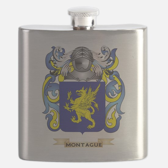 Montague Coat of Arms - Family Crest Flask