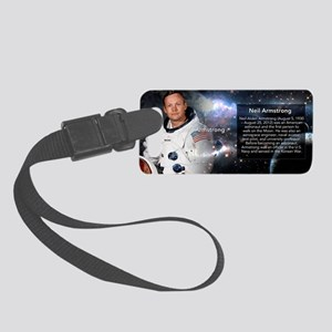 Neil Armstrong Historical Small Luggage Tag