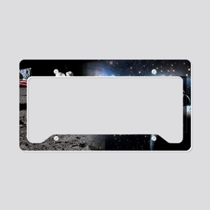 Apollo 11 Historical License Plate Holder